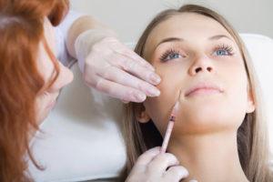 Dental Botox or hyaluronic acid injection