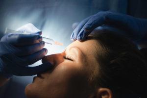 injecting botox in class setting
