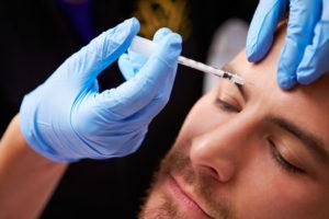 Man Having Botox