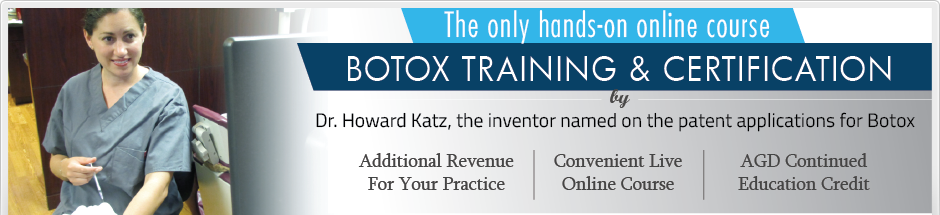 Botox training with Dr. Katz
