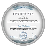 botox training certificate